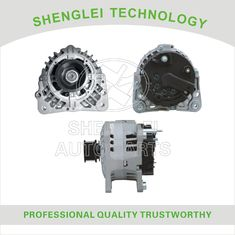 OEM Volkswagen Car Alternator Aluminum Material Made with Clutch Pulley